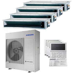 300x300 condizionatore samsung canalizzabile quadri split 12000 plus 12000 plus 12000 plus 12000 btu inverter a plus plus unita esterna 10 kw ue
