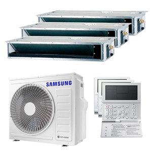 300x300 condizionatore samsung canalizzabile trial split 12000 plus 12000 plus 12000 btu inverter a plus plus unita esterna 6800 watt ue aj068txj3kg slash eu aj035tnldeg slash eu 3