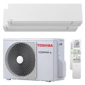 300x300 condizionatore toshiba shorai edge dual split 5000 plus 7000 btu inverter a plus plus wifi unita esterna 33 kw
