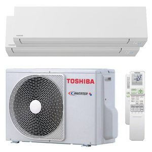 300x300 condizionatore toshiba shorai edge dual split 9000 plus 16000 btu inverter a plus plus wifi unita esterna 5200 watt ue