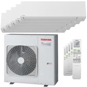 300x300 condizionatore toshiba shorai edge penta split 7000 plus 9000 plus 9000 plus 9000 plus 16000 btu inverter a plus plus wifi unita esterna 10 kw ue