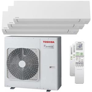 300x300 condizionatore toshiba shorai edge trial split 12000 plus 12000 plus 24000 btu inverter a plus wifi unita esterna 8 kw ue