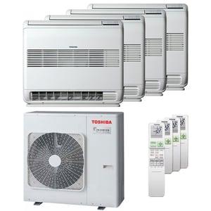 300x300 condizionatore toshiba console j2 quadri split 9000 plus 9000 plus 9000 plus 9000 btu inverter a plus unita esterna 8 kw ue