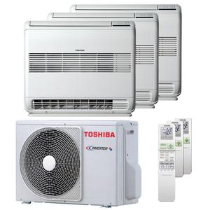 300x300 condizionatore toshiba console j2 trial split 9000 plus 9000 plus 12000 btu inverter a plus plus unita esterna 5200 watt ue