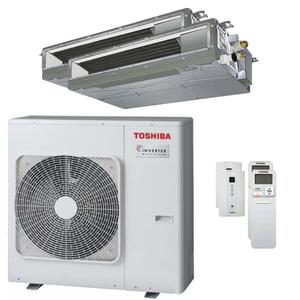 300x300 condizionatore toshiba canalizzabile u2 dual split 16000 plus 16000 btu inverter a unita esterna 10 kw ue