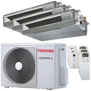 300x300 condizionatore toshiba canalizzabile u2 trial split 7000 plus 7000 plus 12000 btu inverter a plus plus unita esterna 5200 watt ue