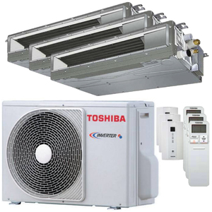300x300 condizionatore toshiba canalizzabile u2 trial split 7000 plus 9000 plus 12000 btu inverter a plus plus unita esterna 5200 watt ue