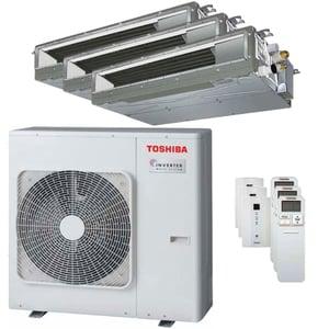 300x300 condizionatore toshiba canalizzabile u2 trial split 7000 plus 7000 plus 24000 btu inverter a plus unita esterna 8 kw ue