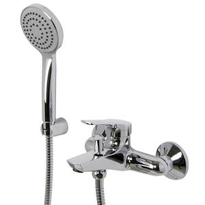 300x300 miscelatore vasca fima carlo frattini serie 4 esterno deviatore a due vie con set doccia