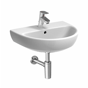 300x300 lavabo 55 pozzi ginori selnova pro 55 cm 1 e 3 fori sospeso bianco lucido