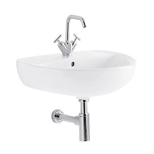 300x300 lavabo geberit colibri 60 cm 1 e 3 fori sospeso bianco lucido