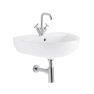 300x300 lavabo geberit colibri 55 cm 1 e 3 fori sospeso bianco lucido