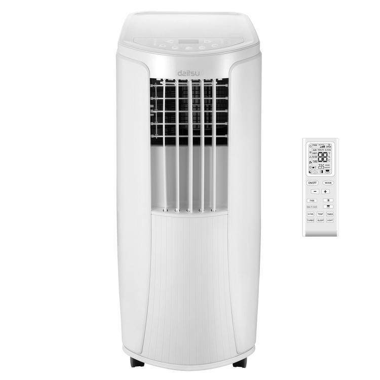 condizionatore portatile daitsu - gruppo fujitsu - mod. apd-12x f/c 12000 btu raffreddamento / riscaldamento classe a/a+