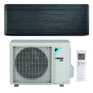 300x300 condizionatore daikin stylish new real blackwood 9000 btu r32 inverter a plus plus plus wifi