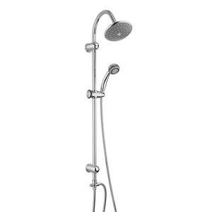 300x300 colonna doccia piralla zoe regolabile a fori esistenti