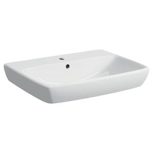 300x300 lavabo 65 geberit selnova square 65 cm sospeso bianco