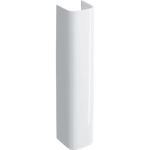 300x300 colonna per lavabo geberit selnova square bianco