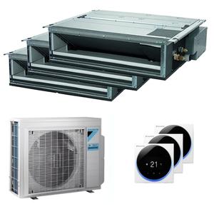 300x300 condizionatore daikin canalizzabile slim trial split 9000 plus 12000 plus 18000 btu inverter a plus plus unita esterna 9 kw ue 5mxm90n fdxm25f9 3