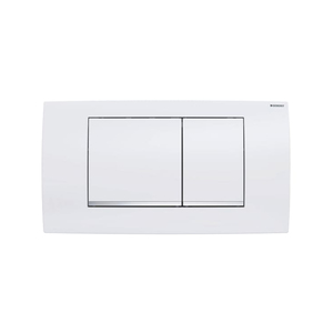 300x300 placca geberit twinline 30 bianca per risciacquo a due quantita