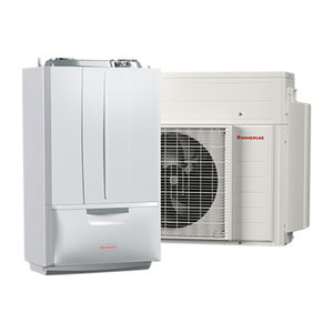 300x300 sistema ibrido pompa di calore integrata con caldaia a condensazione immergas victrix hybrid gpl 4 kw