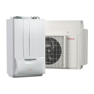 300x300 sistema ibrido pompa di calore integrata con caldaia a condensazione immergas victrix hybrid metano 4 kw