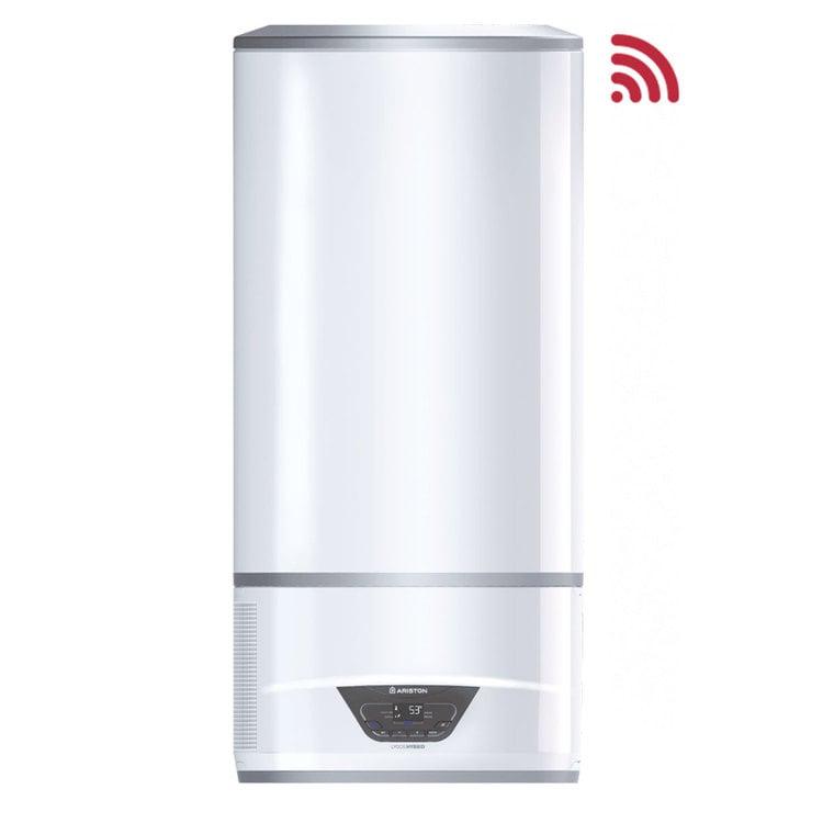 scaldabagno elettrico e pompa di calore ibrido lydos hybrid ariston 100 litri con wifi