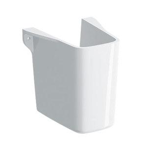300x300 semicolonna per lavamani geberit selnova square bianco
