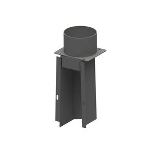 300x300 kit canalizzazione aria calda per inserto a pellet cadel zefiro3