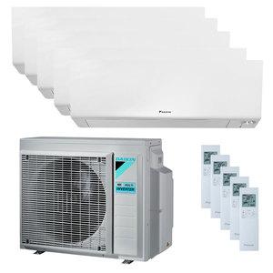 300x300 condizionatore daikin perfera wall penta split 7000 plus 9000 plus 9000 plus 12000 plus 12000 btu inverter a plus plus wifi unita esterna 9 kw ue