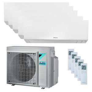 300x300 condizionatore daikin perfera wall penta split 9000 plus 9000 plus 9000 plus 9000 plus 12000 btu inverter a plus plus wifi unita esterna 9 kw ue
