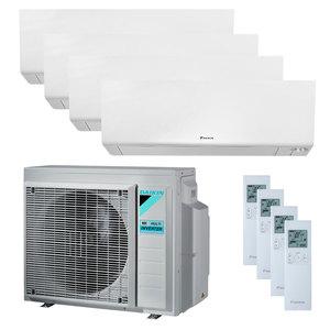 300x300 condizionatore daikin perfera wall quadri split 5000 plus 5000 plus 5000 plus 9000 btu inverter a plus plus plus wifi unita esterna 6800 watt ue