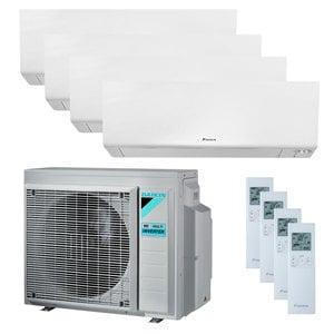 300x300 condizionatore daikin perfera wall quadri split 5000 plus 7000 plus 12000 plus 18000 btu inverter a plus plus wifi unita esterna 8 kw ue