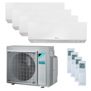 300x300 condizionatore daikin perfera wall quadri split 7000 plus 9000 plus 9000 plus 24000 btu inverter a plus plus wifi unita esterna 8 kw ue