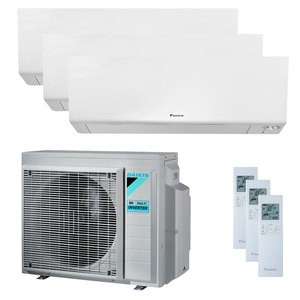 300x300 condizionatore daikin perfera wall trial split 12000 plus 12000 plus 18000 btu inverter a plus plus wifi unita esterna 8 kw ue