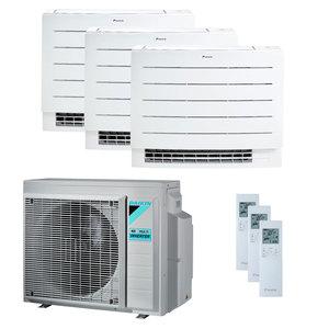 300x300 condizionatore daikin perfera floor trial split 7000 plus 7000 plus 18000 btu inverter a plus plus wifi unita esterna 5200 watt ue