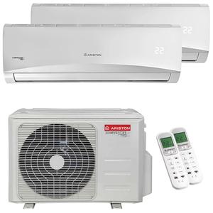 300x300 condizionatore ariston prios r32 dual split 9000 plus 12000 btu inverter a plus unita esterna 5 kw ue