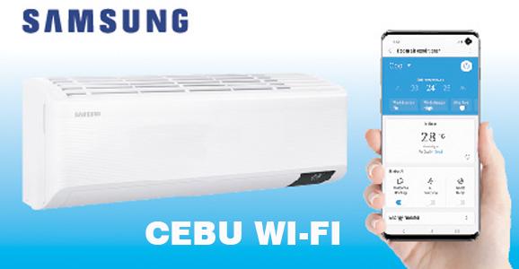 Condizionatori Samsung Cebu Wi-Fi