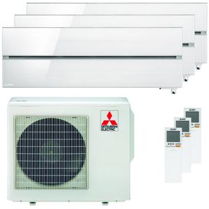 300x300 condizionatore mitsubishi electric kirigamine style msz ln trial split 9000 plus 9000 plus 12000 btu inverter a plus plus wifi esterna 54 kw bianco